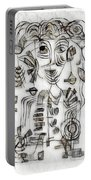 Abstraction 2573 Portable Battery Charger