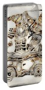 Abstraction 2807 Portable Battery Charger