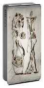 Abstraction 2819 Portable Battery Charger
