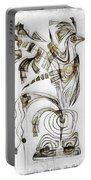Abstraction 2829 Portable Battery Charger