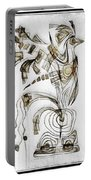 Abstraction 2831 Portable Battery Charger