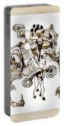 Abstraction 2869 Portable Battery Charger