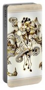 Abstraction 2872 Portable Battery Charger