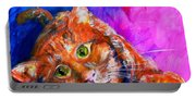 Abstrcat Portable Battery Charger