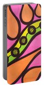 Aceo Abstract Design Portable Battery Charger
