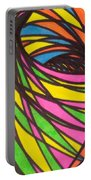 Aceo Abstract Spiral Portable Battery Charger