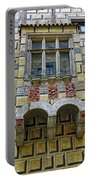Achitecture Of The Little Castle Within Cesky Krumlov In The Czech Republic Portable Battery Charger