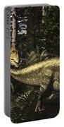 Acrocanthosaurus Hunting Tenontosaurus Portable Battery Charger