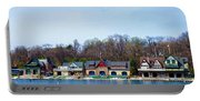 Across From Boathouse Row - Philadelphia Portable Battery Charger