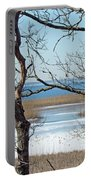 Across The Marsh To Woodneck Beach - Cape Cod Portable Battery Charger
