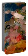 Acryl Color Abstract Portable Battery Charger