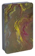 Acrylic Pour 2855 Portable Battery Charger by Sonya Wilson