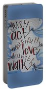 Act Love Walk Portable Battery Charger