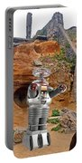 Actor Jonathan Harris As Dr Smith From Lost In Space II Portable Battery Charger