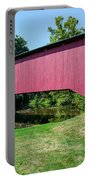 Adairs/cisna Mill Covered Bridge Portable Battery Charger