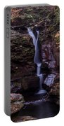 Adams Falls Pa Autumn Portable Battery Charger