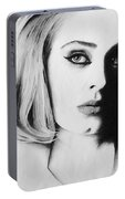 Adele. Portable Battery Charger