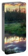 Adirondack Sunrise Portable Battery Charger
