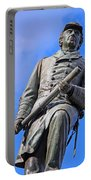 Admiral David Farragut In Farragut Square Portable Battery Charger