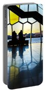 Admiring Sunset Portable Battery Charger
