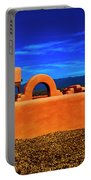Adobe At Sunset Portable Battery Charger