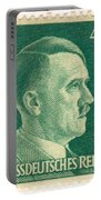 Adolf Hitler 42 Pfennig Stamp Classic Vintage Retro Portable Battery Charger