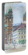 Adolf Hitler Painting Ordensplatzcu Portable Battery Charger
