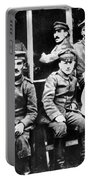 Adolf Hitler With  Fellow Soldiers From The List Regiment  Number Two Circa 1916 Portable Battery Charger