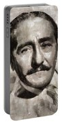 Adolphe Menjou, Actor Portable Battery Charger
