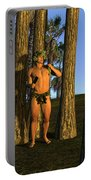 Adonis At Sunset Portable Battery Charger