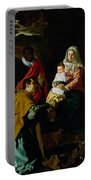 Adoration Of The Kings Portable Battery Charger