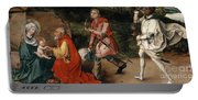 Adoration Of The Magi By Durer Portable Battery Charger