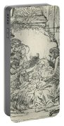 Adoration Of The Shepherds, With Lamp Portable Battery Charger