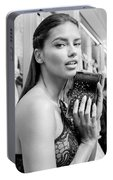 Adriana Lima Portable Battery Charger