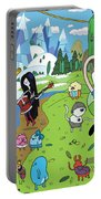 Adventure Time Portable Battery Charger
