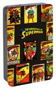 Adventures Of Superman Portable Battery Charger