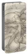 Aeneas Slaying Mezentius Portable Battery Charger