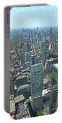 Aerial Abstract Toronto Portable Battery Charger