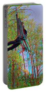 Aerial Artist - Use Red-cyan 3d Glasses Portable Battery Charger