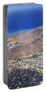 Aerial Of Diamond Head Portable Battery Charger