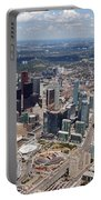 Aerial Of Downtown Toronto Ontario Portable Battery Charger