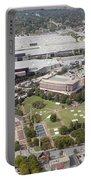 Aerial View Of Atlanta Georgia Portable Battery Charger