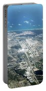 Aerial View Of Fort Lauderdale Airport. Fll Portable Battery Charger
