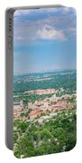 Aerial View Of The Beautiful University Of Colorado Boulder Portable Battery Charger