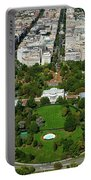 Aerial View Of The White House Portable Battery Charger