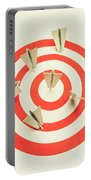 Aeroplane Target Pin Board Portable Battery Charger
