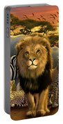 African Beasts Portable Battery Charger