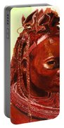 African Beauty Portable Battery Charger
