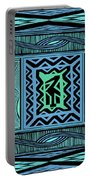 African Blue Bird Portable Battery Charger