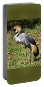 African Crowned Crane Poising Portable Battery Charger